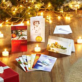 10 cartes de vœux de Noël