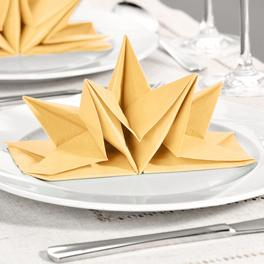 12 serviettes, beige
