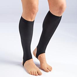 2 paires de jambières confort homme, noir