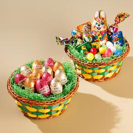 2 paniers de Pâques