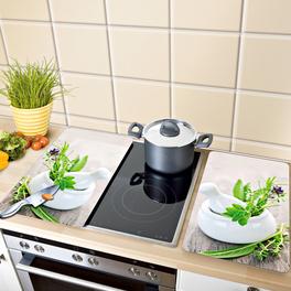 2 plaques pour cuisinière Herbes aromatiques