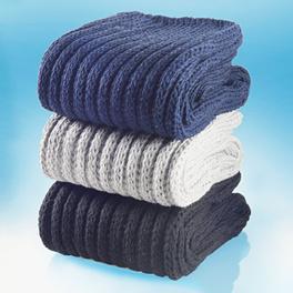 3 paires de chaussettes confort