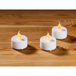 4 bougies chauffe-plat à piles