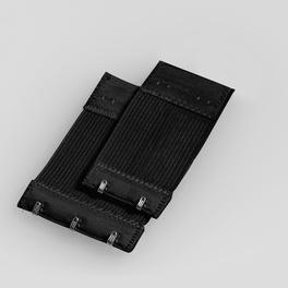 4 rallonge-pattes, noir