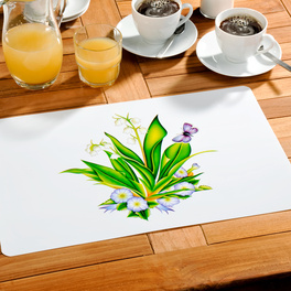 """4 sets de table """"Lilly"""""""