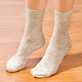 5paires de chaussettes avec lin