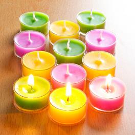6bougies chauffe-plat parfumées