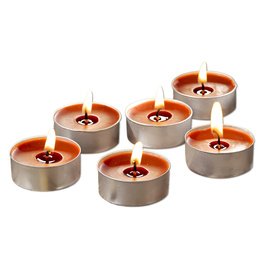 6 bougies chauffe-plats parfumées