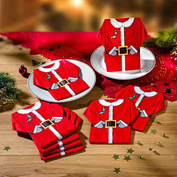 8serviettes Père Noël