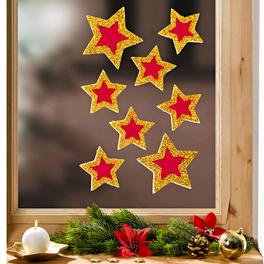 8 stickers Étoiles