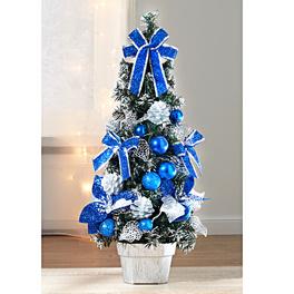 Arbre de Noël, bleu