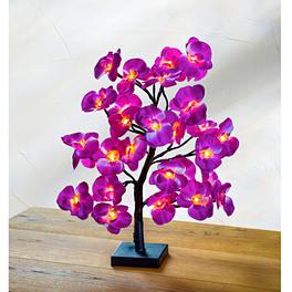 Arbre à orchidées LED, violet
