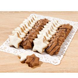 Assortiments de biscuits en étoiles