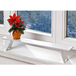 Banc pour rebord de fenêtre 60x7cm