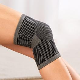 Bandage genou avec bambou