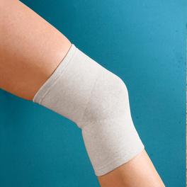 Bandage genou avec fils d'argent