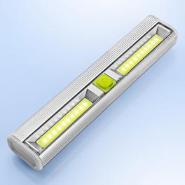 Barre lumineuse en aluminium, lumière variable