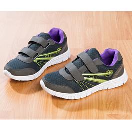 Baskets, gris-violet