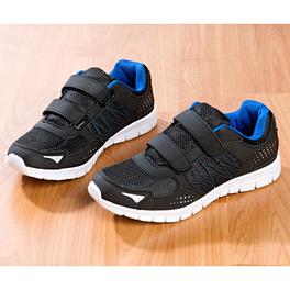 Baskets, noir-bleu