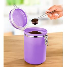 Boîte à café, violet