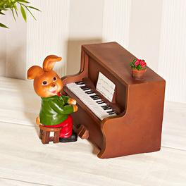 """Boîte à musique """"Lapin pianiste"""""""