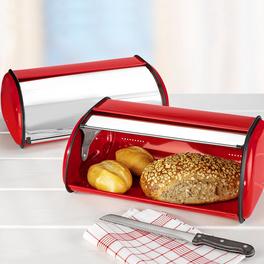 Boîte à pain, rouge