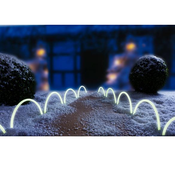 Bordure 10 éléments luminescente