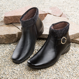 Bottines, noir