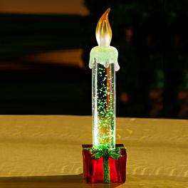 Bougie à LED Cadeau, rouge