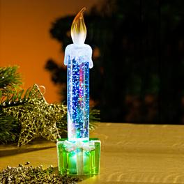 Bougie à LED Cadeau, vert