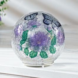 Boule LED papillon 12cm