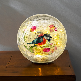Boule lumineuse Oiseaux