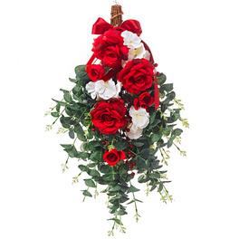 Bouquet de roses à suspendre