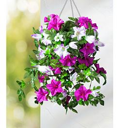 Bouquet à suspendre Pétunias