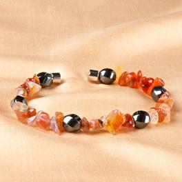 Bracelet aimanté Hématite