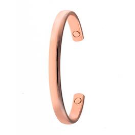 Bracelet aimanté cuivre poli
