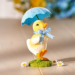 Caneton avec parapluie