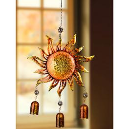Carillon à vent « Soleil ambré »