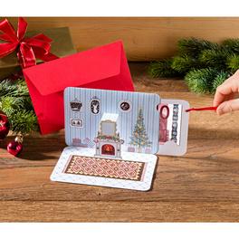 Carte pour bon cadeau/billet