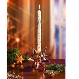 Chandelier étoile, cuivre