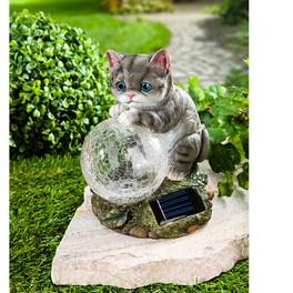 Chat avec boule solaire