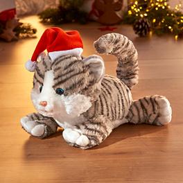 Chat dansant de Noël