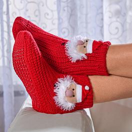 """Chaussettes antidérapantes """"Père Noël"""""""