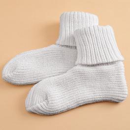 Chaussettes confort, blanc