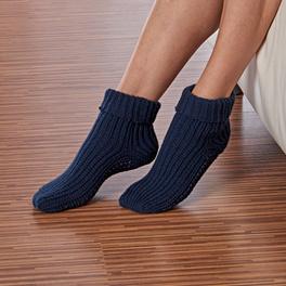 Chaussettes confort, bleu