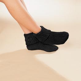 Chaussettes confort, noir