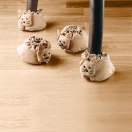 Chausson pour pieds de meubles « Chat »