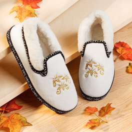 Chaussons, blanc