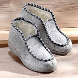 Chaussons, gris