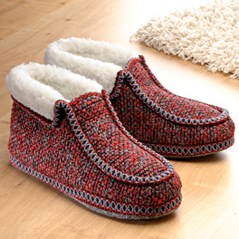 Chaussons, rouge